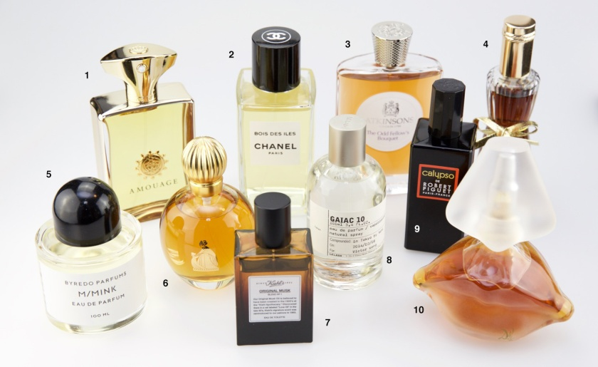 20 of My Favorite Perfumes (1-10) © Victor Wong